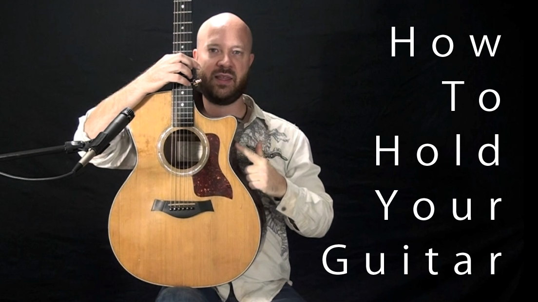 How To Hold A Guitar Pick video link