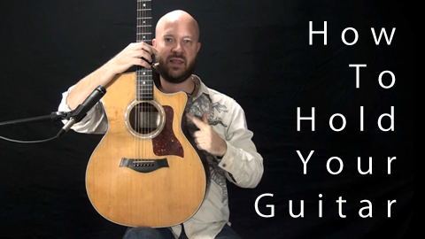 Holding your guitar video thumbnail